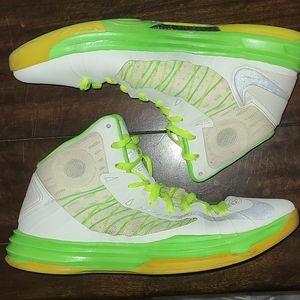 Nike Shoes - Nike Lunar Hyperdunk 2012 White Green sz 11.5